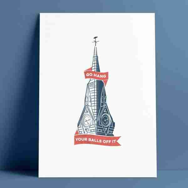 Clock Tower Print