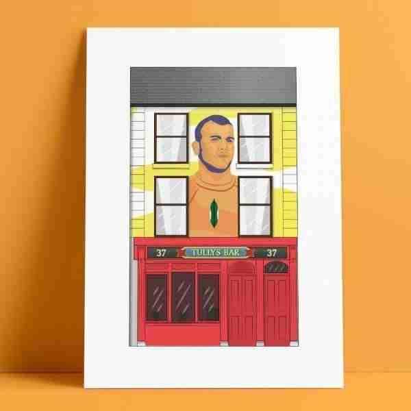 Tullys Pub A4 Print