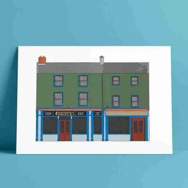 Geoff's Pub Print