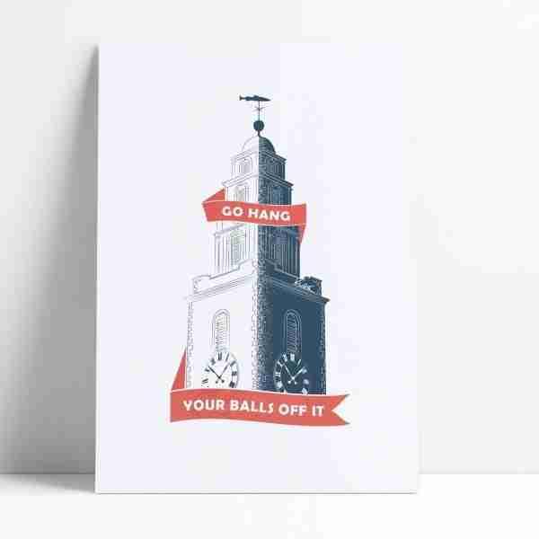 Shandon Bells Print