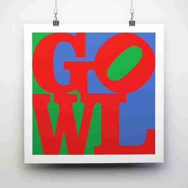 GOWL Square Print (30cm x 30cm)
